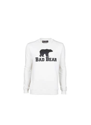 Bad Bear Erkek Sweatshirt Crewneck 200212011-Wht Kırmızı